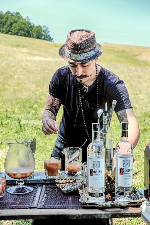 World Class Bloody Mary - Toel Colombo e Ketel One